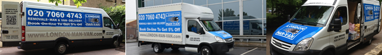 Removals London Company - Our Vans